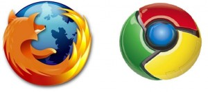 chrome firefox