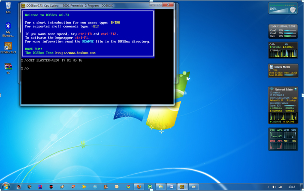 How to install And use Turbo C++ In Full-Screen on Windows 7