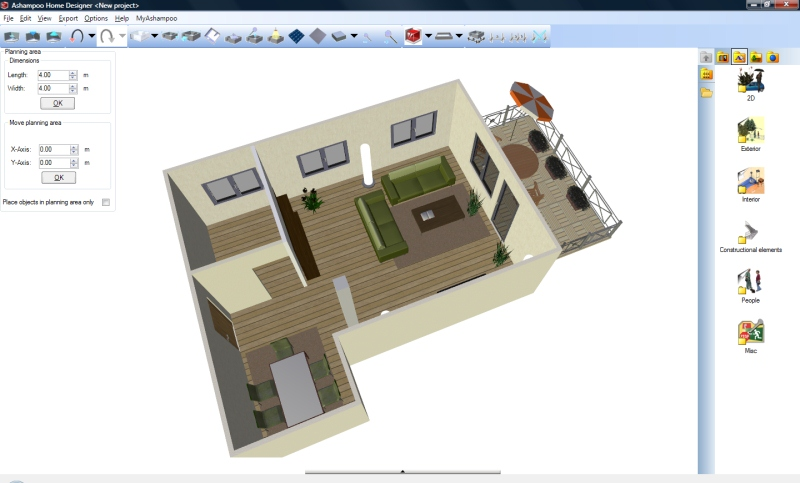See your future home or renovations in 3d best software Home plan creator