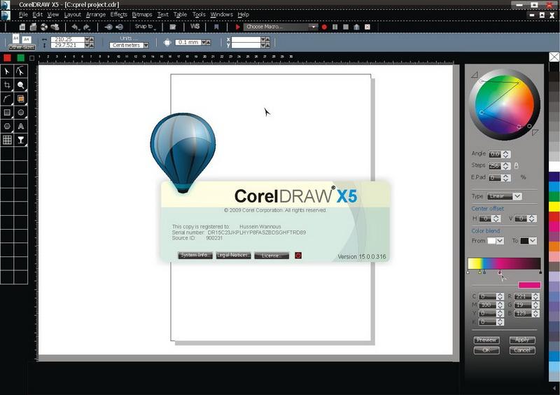 corel draw x5 mac free