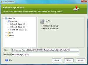EASEUS Todo Backup 3.0