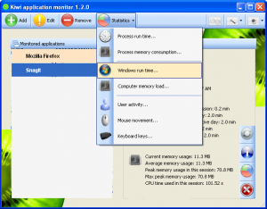 Kiwi Application Monitor 1.2.0