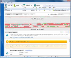 Autologic Disk Defrag 4