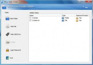 Wise Hide Folder