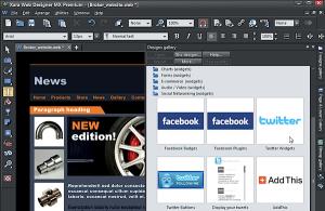 Xara Web Designer MX 8