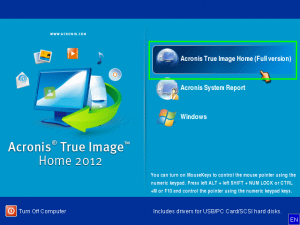 Acronis True Image Home Edition 2012