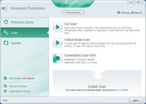 Kasperskly Lab Scan