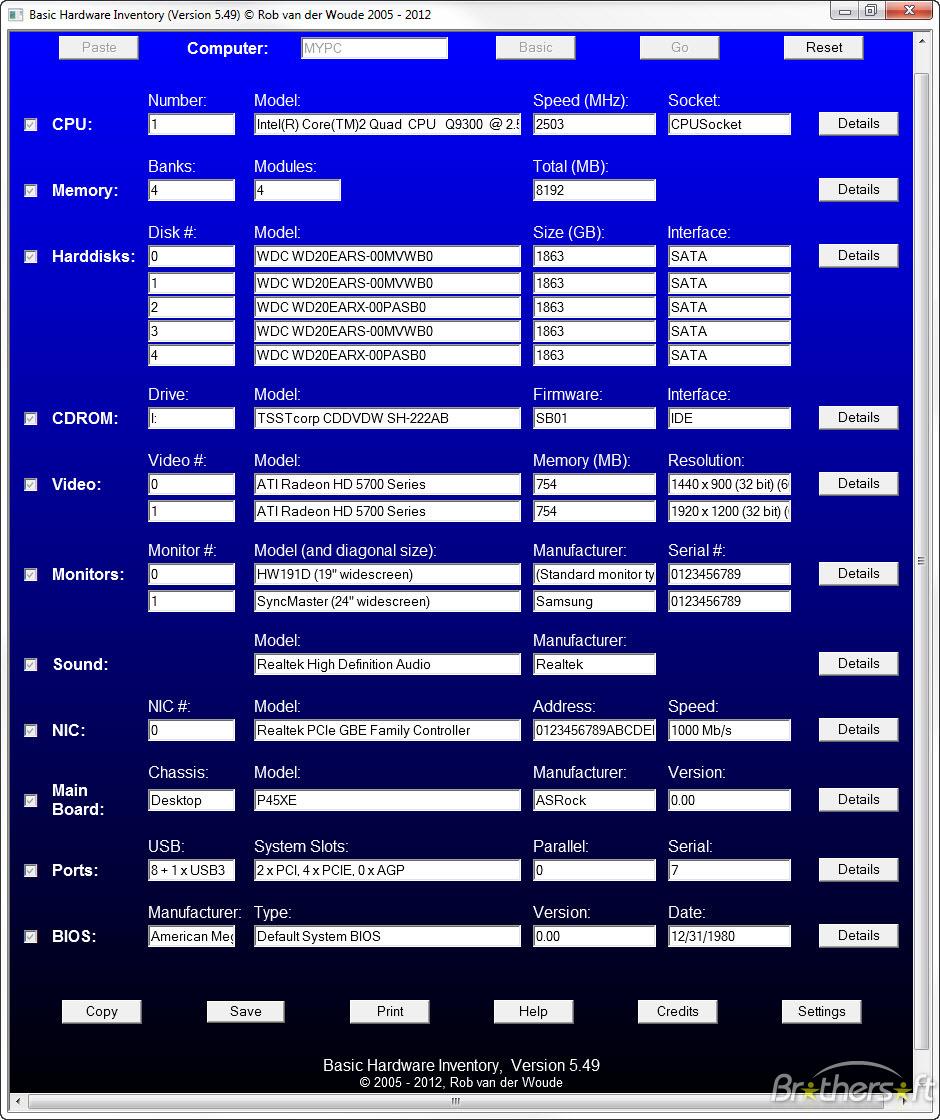 Basic Hardware Inventory | Best Software 4 Download blog