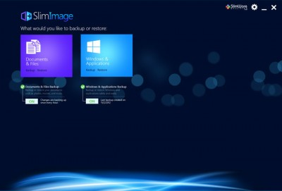 slimimage windows8 disk image 400x271 SlimImage Is Launched For PC Backup