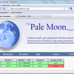 Pale Moon 20.0.1 – Sensitizing The FireFox Users