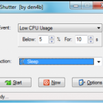 Shutter Program For Automatic PC Shutdowns
