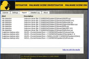 Malware Scene Investigator