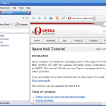 Opera Mail Goes It Alone Saying Good Bye To Its Browser