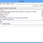 Universal Dictionary, Spell Checker And A Thesaurus Offered By Wordweb 7.0