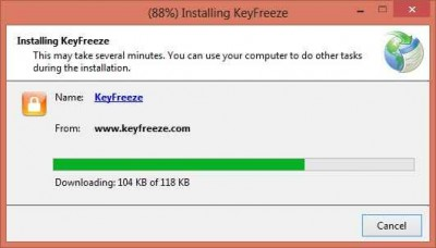 KeyFreeze 400x228 Keep The Screen Alive But Lock The Keys With KeyFreeze