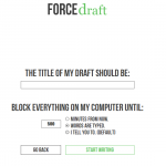 FORCEdraft – The Best Text Editor For Individuals Who Like Editing