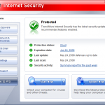 Trend Micro –  Cleaning the PC infection