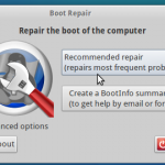 Boot Repair Disk – Detecting and fixing the Windows and Linux Boot Issues