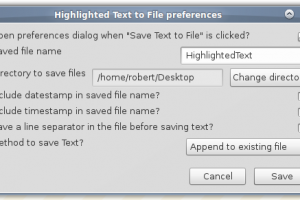 Saving Text To File