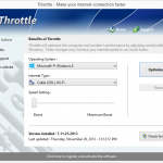 Throttle – Enhancing Internet Speed