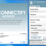 Connectify Hotspot – One of the Powerful and Easy to Use Hotspot tool