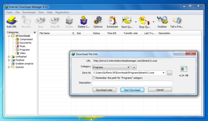 6 free internet download managers idm and accelerator [ no adware ].