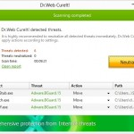 Dr.WEB CureIt!10.0–Interactive and Easy to Use Anti-Virus Tool