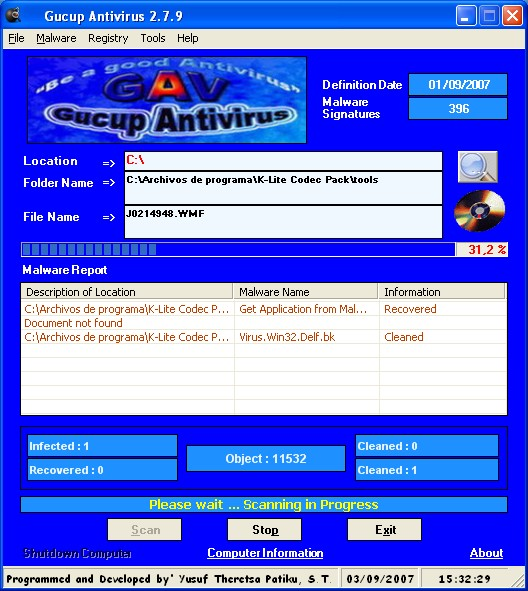Gucup Antivirus