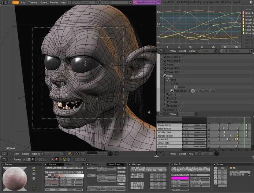 X-Blender full screenshot