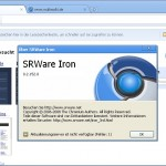 SRWare Iron – Open Source Free Web Browser