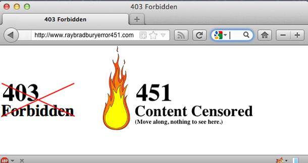 451 Error Report