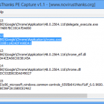NoVirusThanks PE – Saving Executable As And When They Are Launched