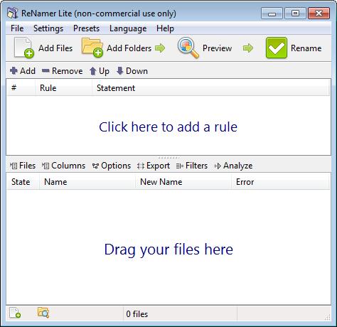 Windows 7 ReNamer 6.9 full