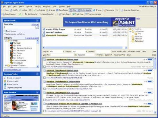 Windows 7 Copernic Agent Basic 6.20 full