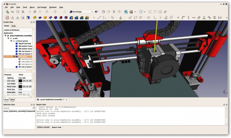 FreeCAD Portable full screenshot