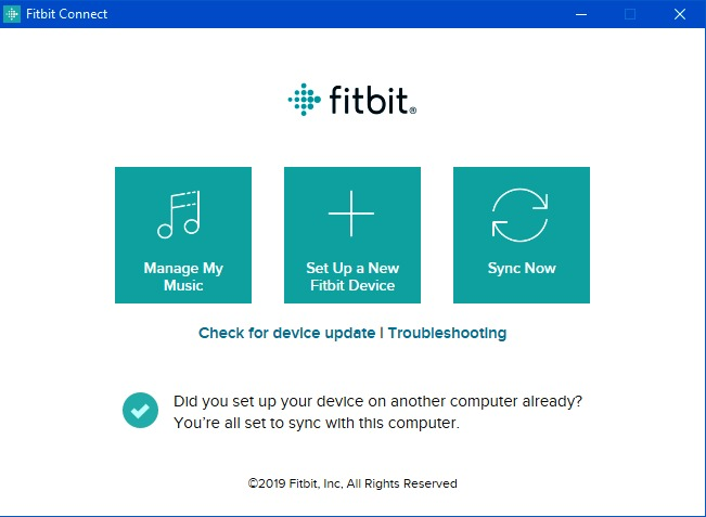 Windows 8 Fitbit Connect full